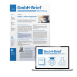 GmbH-Brief − Steuervorteile, Haftungsschutz und Finanzsicherheit für Geschäftsführer